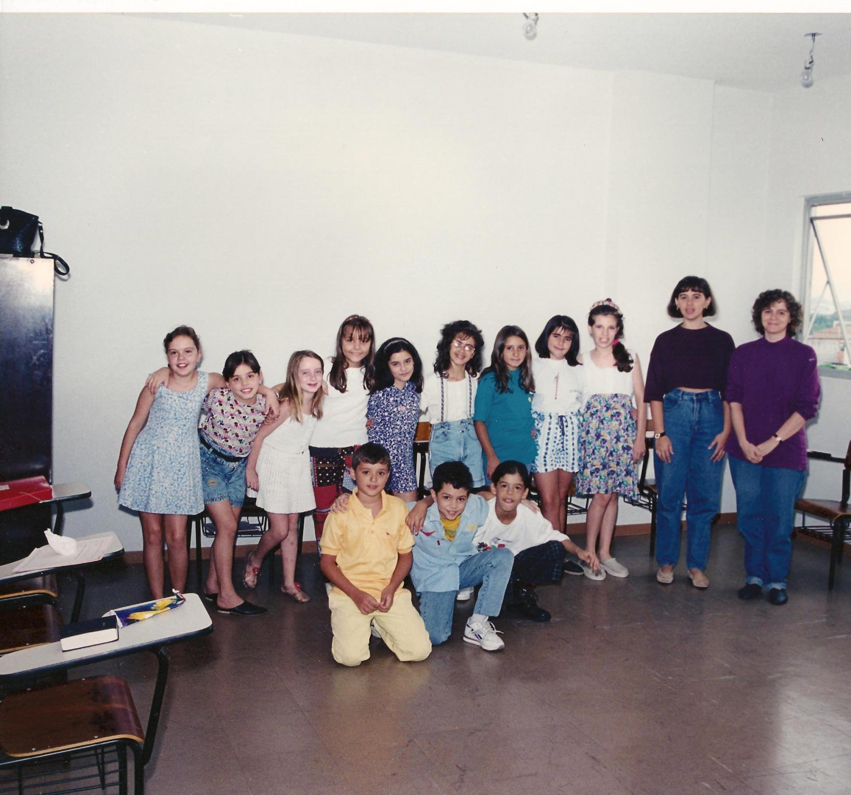 1995 Escola Dominical - Classe Davi